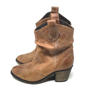 Aldo Cowgirl Booties